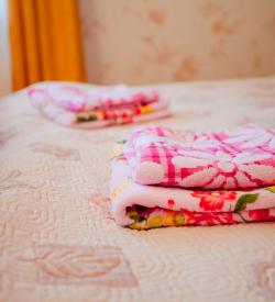 Семейный номер ( 1 большая и 1 маленькая кровать)