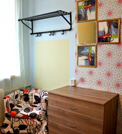 Семейный номер с дополнительной двухъярусной кроватью и ТВ