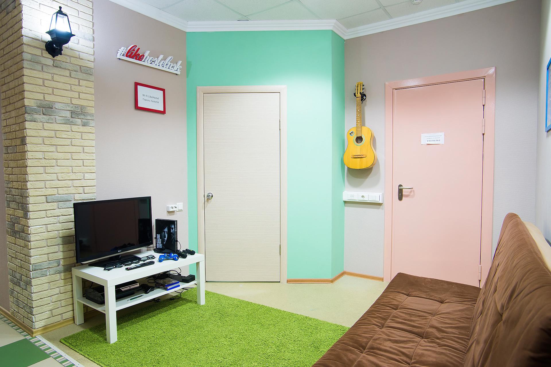 Лучший хостел в Новосибирске: Комфортный сон всего за 350 рублей в стуки, а отдельный номер за 1200 рублей!
